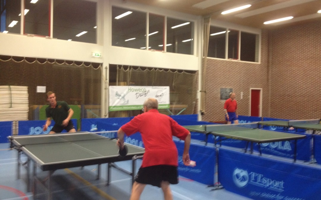 De competitie in volle gang