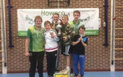 Hanneke Harbers clubkampioen 2016