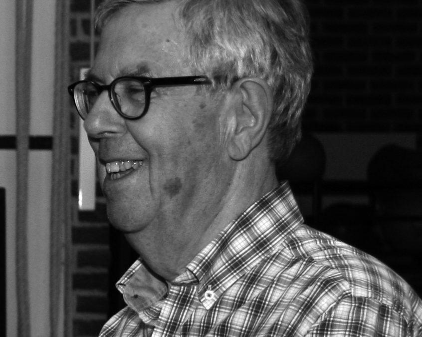 Bericht van overlijden erelid Roel Tieleman