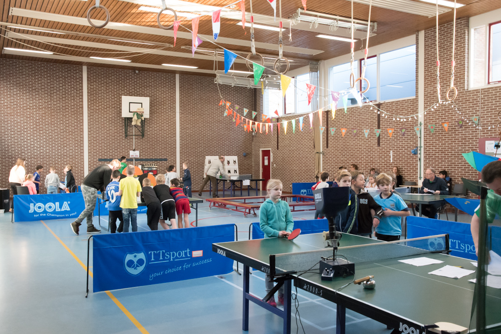 Kindertafeltennisfeest 2017